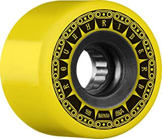 Bones Rough Riders Tank 59mm 80A - Yellow