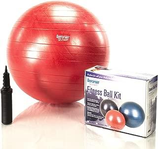"Aeromat Fitness Ball Kit Color/Size: Dark Purple / 25.59"" Diameter"