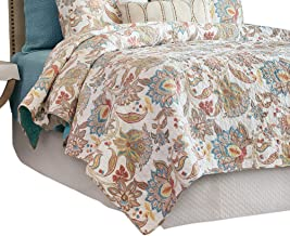 C&F Home Lucianna Quilt, Twin, Aegean/Rust/Gold