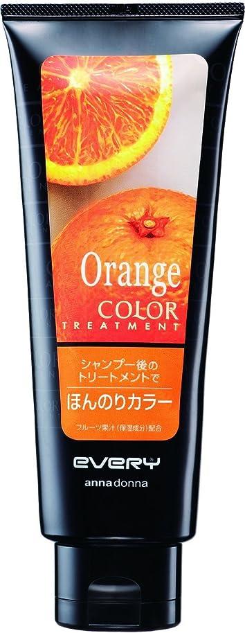 職人自発的デコラティブ【アンナドンナ】エブリ カラートリートメント オレンジ 160g ×5個セット