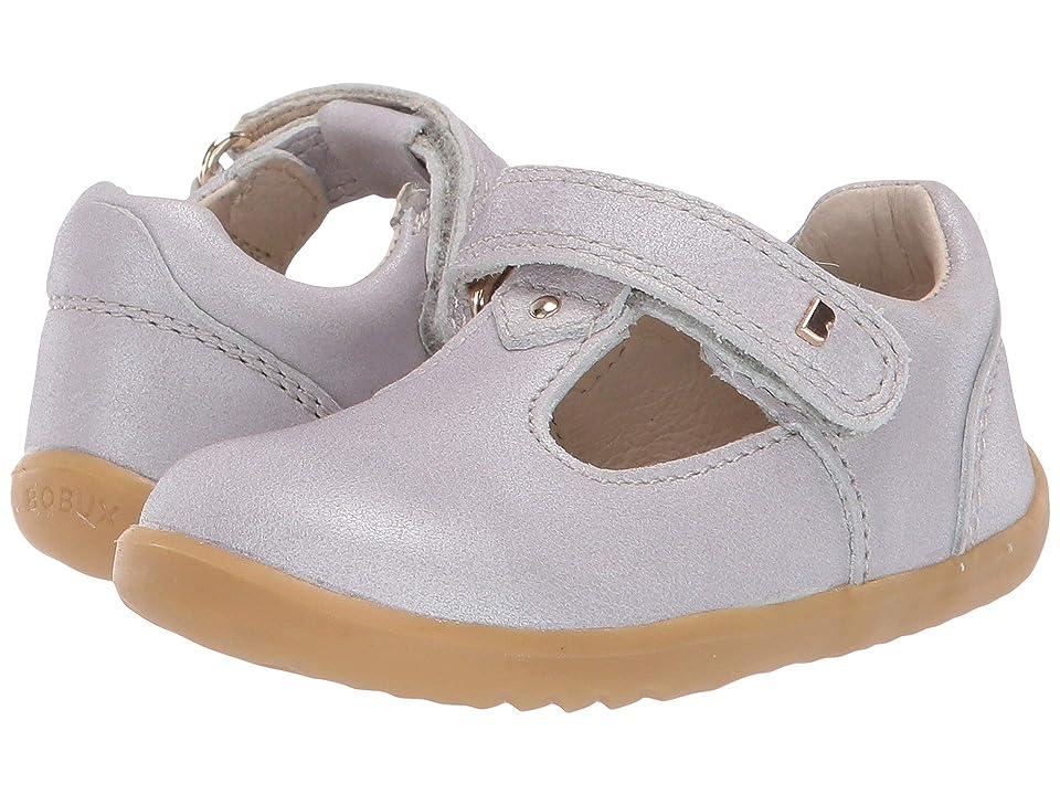 Bobux Kids Step Up Louise (Infant/Toddler) (Silver Shimmer) Girls Shoes