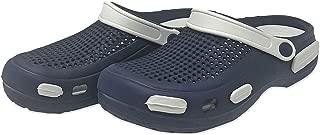 HYKEE Men's Classic Clog, Comfort Slip On Casual Water Shoe