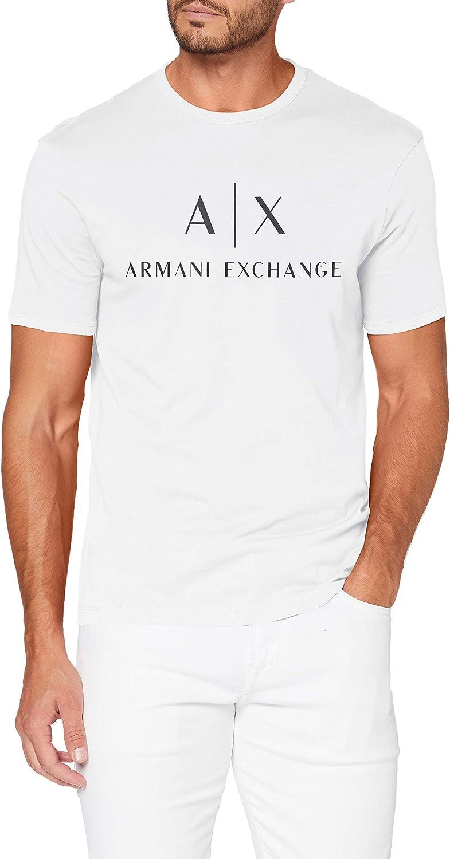 AX Armani Exchange Men's Crew Neck Logo Tee