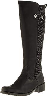 Rieker Damen Stiefel Z7392, Frauen Langschaftstiefel,Boots