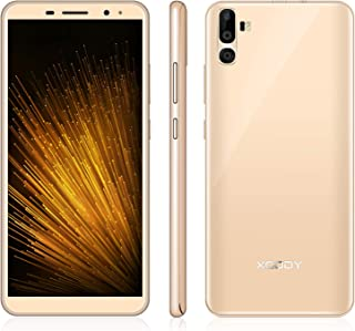 Cell Phone Unlocked, Xgody Smartphones International Version, Dual Sim Celulares Desbloqueados 6 inch HD (18:9) Screen 1GB RAM 16GB ROM Android 7.0 2500mAh Battery