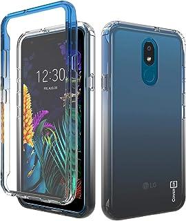 CoverON Colorful Full Body Gradient Series for LG Aristo 4 Plus Case/LG Prime 2 Case Black F227-CO-LGARISTO4PLUS-HY37-BK
