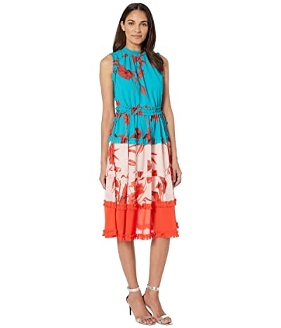 Ted Baker Camelis Dress (Turquoise) Women