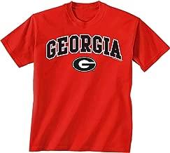 New World Graphics NCAA Georgia Bulldogs -Adult UGA Over Super G, X-Large, Red