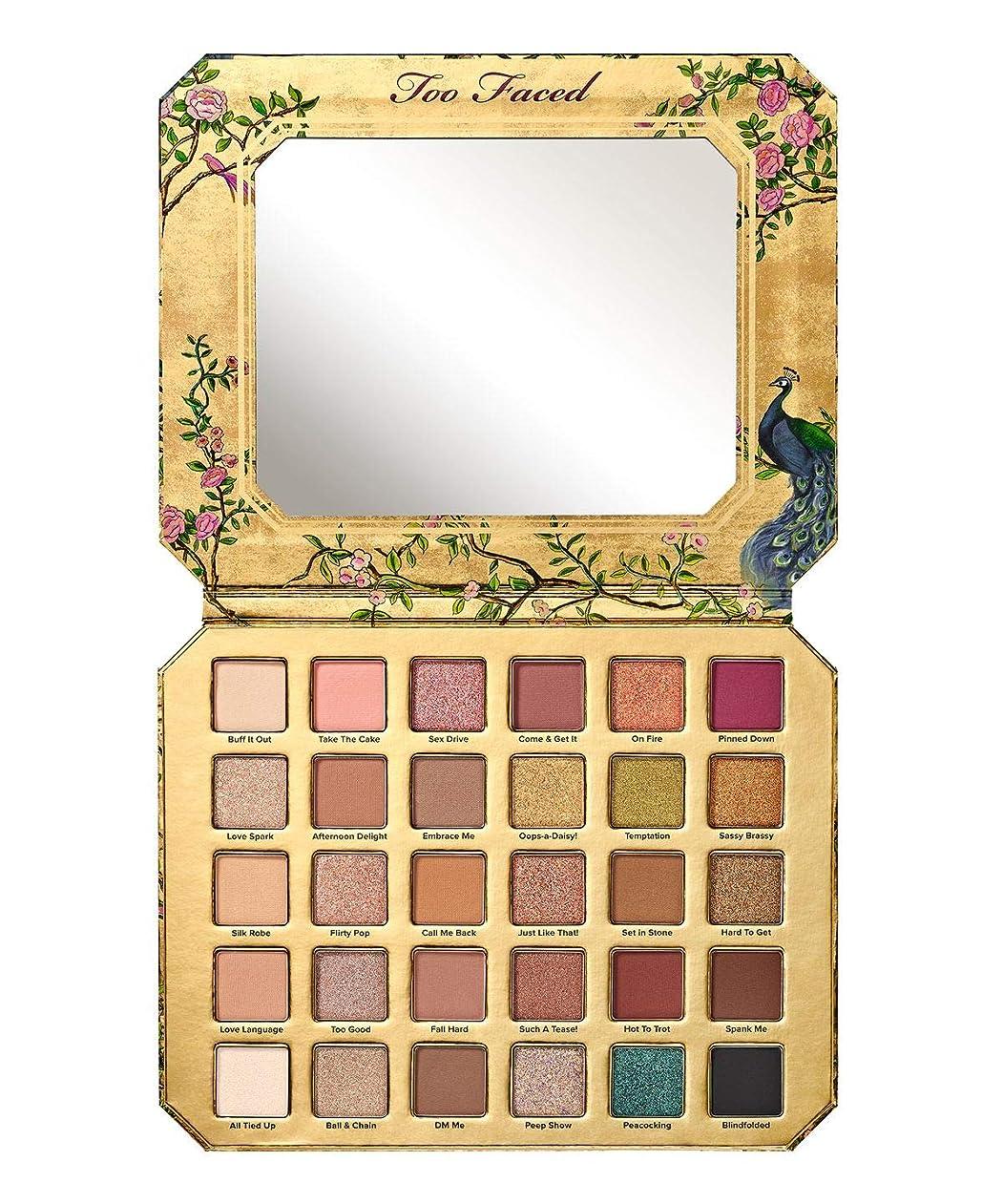真空バスタブ悲しむToo Faced Natural Lust Eye Shadow Palette+ FREE Sample