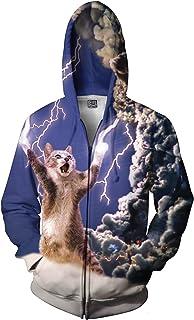 RageOn Let's Rage Thundercat Premium All Over Print Zip-Up Hoodie