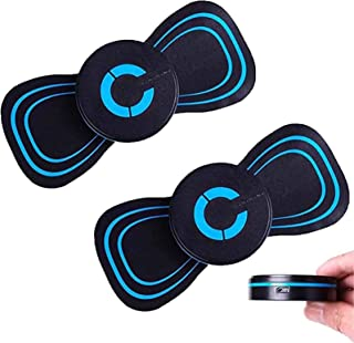 2 Pcs Reactivate EMS Electric Massager Pad,Electric Breast Massage Pad,Electric Breast Enhancer Chest Frequency Massager,A...