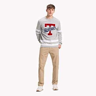 Tommy Hilfiger sweatshirt for men in Cool Grey, Size:Large