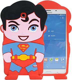 Samsung Galaxy Tab 4 7.0 SM-T230,SM-T231 Case,Phenix-Color 3D Cute Soft Silicone [Drop Proof,Shock Proof,Anti Slip] Cartoon Gel Rubber Back Cover Case for SM-T230,SM-T231 (#08)