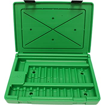 SK Hand Tool ABOX-4116 Blow-molded replacement case for 4116 and 4116-6 1//2 Drive Impact Socket Sets Green