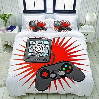 Amazon com: retro video game console - Duvets, Covers & Sets