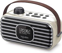 Inscabin P3 Tragbarer DAB/DAB + FM-Digitalradio/Tragbarer drahtloser Lautsprecher mit..
