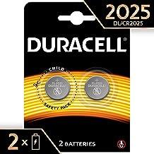 Duracell 2025 - Pila de botón de litio 3V, diseñada para dispositivos electrónicos, 2 unidades, cr 2025