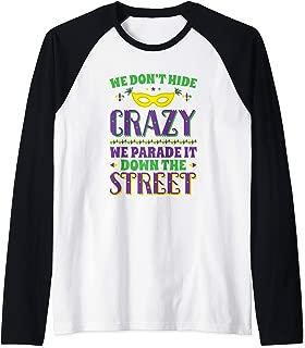 mardi gras baseball shirts