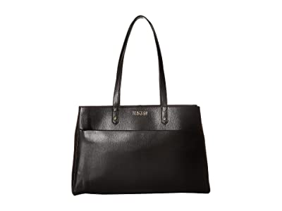 Kenneth Cole Reaction Downtown Darling Trench Tote (Black) Tote Handbags