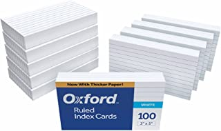3x4 index cards
