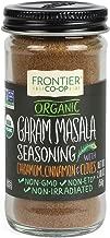 Frontier Garam Masala Certified Organic, Salt Free Blend, 2-Ounce Bottle
