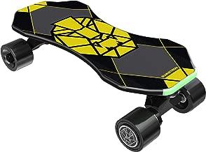 "Swagtron Swagskate NG3 Electric Skateboard for Kids, Teens | Kick-Assist A.I. Smart Sensors | Mini E-Cruiser Skateboard w/Move-More/Endless Mode | 9"" Deck 72mm Wheels (NG-3)"