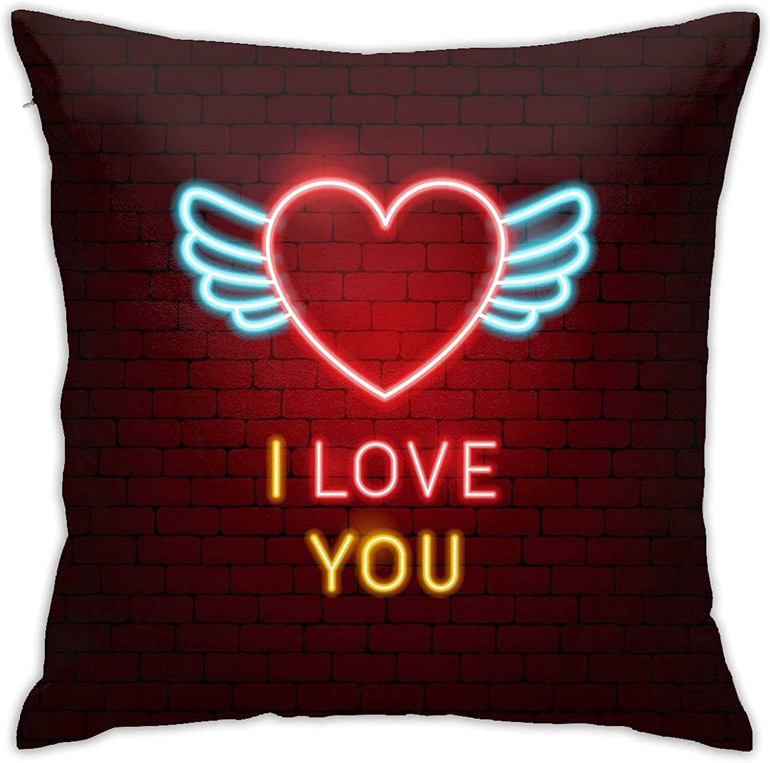 Nutteri I Love Double-Sided Anime Great interest Square Printing Thr Discount is also underway Pillowcase