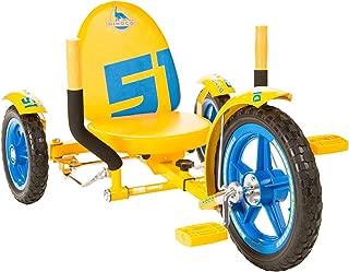 Mobo Mity Disney Pixar Cars 3 Toddler Tricycle. Cruz Ramirez Big Wheel Ride On Trike. Outside Riding Toy, Yellow