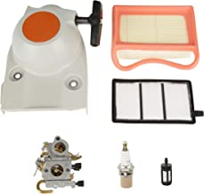 Aftermarket Carburetor Air Fuel Filter Spark Plug Replacement Kit for Stihl TS410 TS420