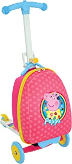 Peppa Pig M14710 Scootin Suitcase Peppa Scooter, Pink
