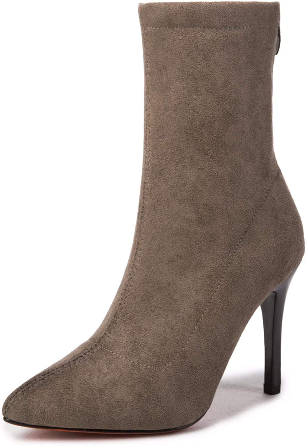 QPGGP-boots Martin Boots, Autumn, Winter, European and American Wind, Pointed shoes, Martin Boots.