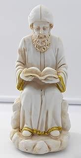 2091 Charbel Makhlouf, Saint of Lebanon Figurine, Holy Statue Sitting & Reading/Home Decorative