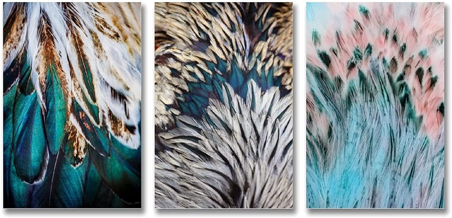 Color Feather Art Deco Ranking TOP19 Painting and Arlington Mall Canvas P Poster Wall