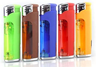 transparent bic lighter