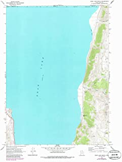 YellowMaps Bear Lake South UT topo map, 1:24000 Scale, 7.5 X 7.5 Minute, Historical, 1969, Updated 1986, 27 x 21.1 in