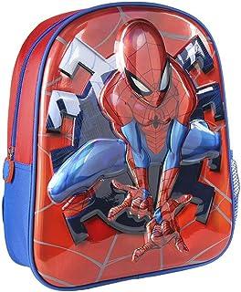 Cerdá, Mochila Infantil 1-5 Años de Spiderman con Licencia Oficial de Marvel Studios-Medidas 25 x 31 x 10 cm Unisex niños,...
