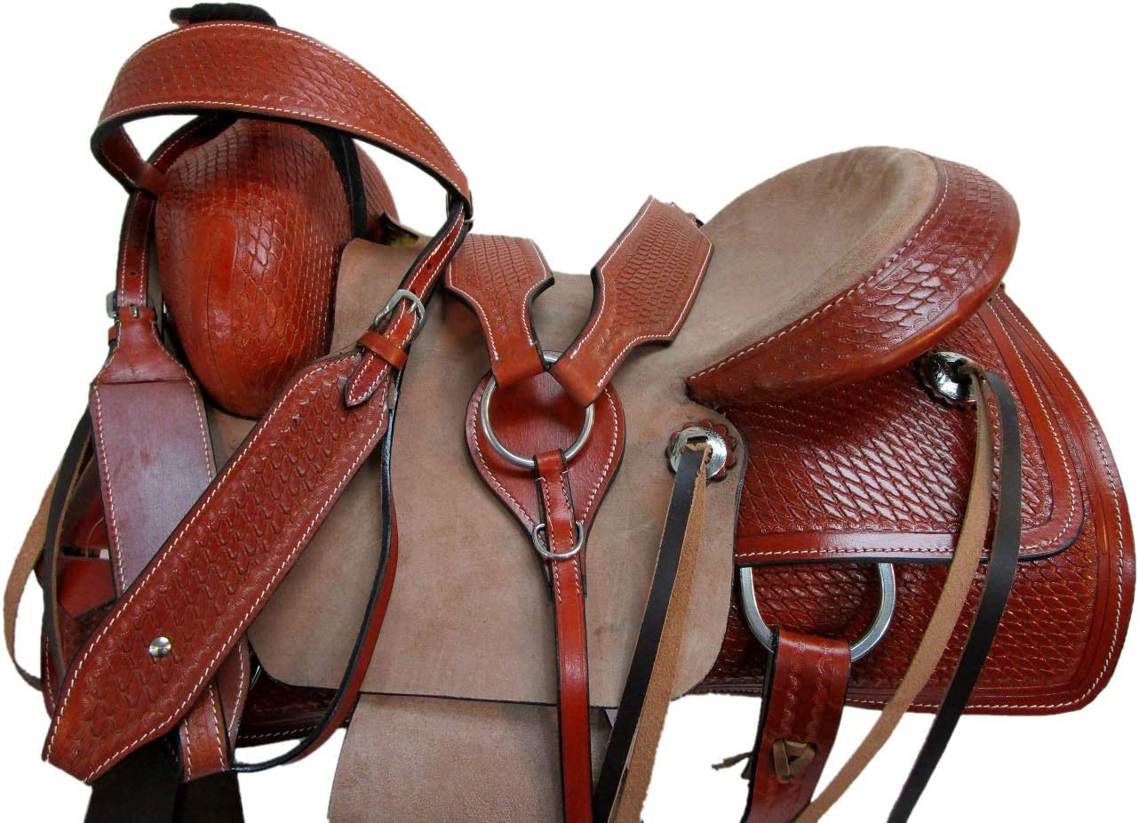 Orlov Hill Leather Co 15 16 17 Roper Ranch Roping Wade Type Trail Pleasure TACK Horse Western Saddle