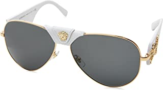 Versace Women's Medusa Aviator Sunglasses