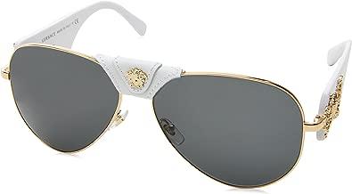 Versace Women's Medusa Aviator Sunglasses