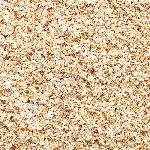 Cáscaras de psyllium orgánico MeaVita, 99% puro, (1 x 500g) cáscaras de psyllium indio, alta fibra y vegano