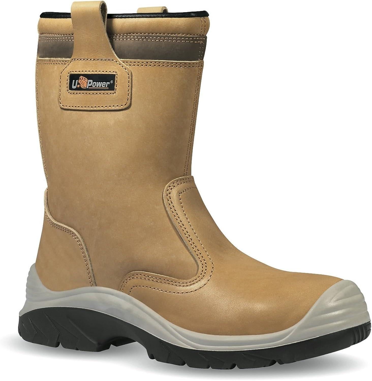 U POWER Mans Safety skor bspringaaa läder