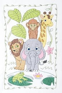 Jungle Crib Quilt Top