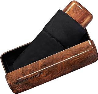 Parapluie noir pierre cardin vendu dans une boite à lunette