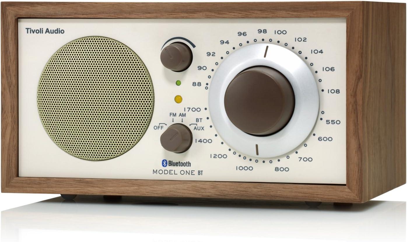 Tivoli Model One Bluetooth Ukw Mw Radio In Walnuß Beige Heimkino Tv Video