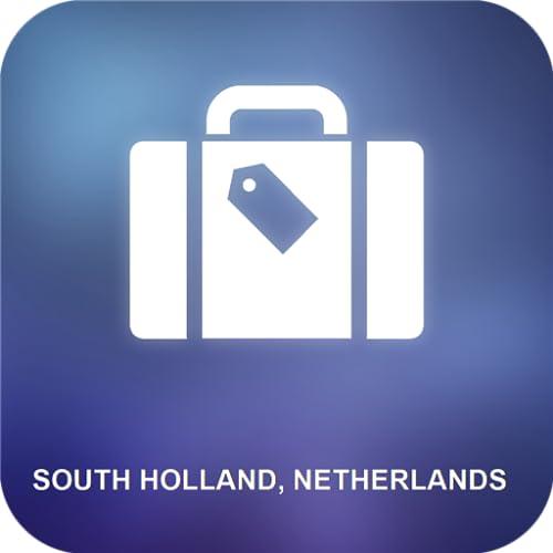 Holanda Meridional, Países Bajos Mapa