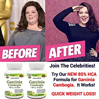 2 Garcinia Cambogia Extract from Affordable Natural Health - All Natural 100% Pure - 85% HCA - Non-GMO - 120 Capsules - Diet Pills Weight Loss Supplement - Appetite Suppressant - Energy Booster