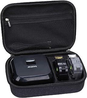 Aproca Hard Carry Travel Case Compatible with Brother P-Touch Cube Plus PT-P710BT Versatile Label Maker
