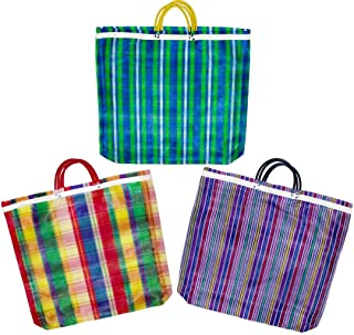 Pack of 3 Large Mercado Bags - 20