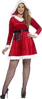 mrs claus costume plus size uk