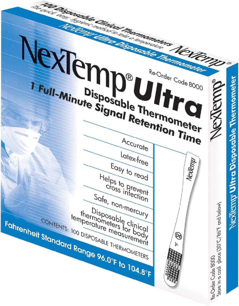 NexTemp Ultra 100 Pack Available in Popular standard Fahrenheit Sin 12 - 24 Our shop OFFers the best service